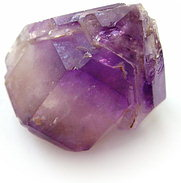 Head of amethyst scepter crystal, violet Madagascar quartz, exclusive amethysts minerals, amethyste information data