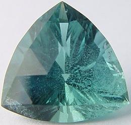 Trillion Blue Green Beryl 10 20 Cts Madagascar Gemstone
