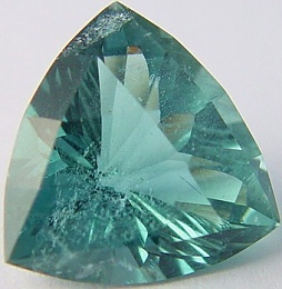 Trillion Blue Green Beryl 10 20 Cts Madagascar Gemstone