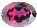 Oval Rhodolite garnet, purple red pink gemstone, exclusive rhodolites gemstones, garnets information
