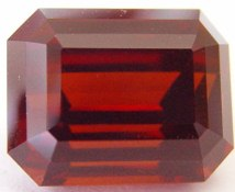 23.32 carats Hessonite garnet gemstone, orange garnets, exclusive loose faceted hessonites, hessonite shopping