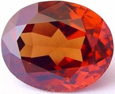 11.95 carats Malaya garnet gemstone, orange garnets, exclusive loose faceted malaya garnets, pyrope spessartite shopping