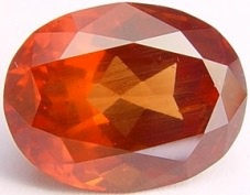 10.45 carats Oval Malaya garnet gemstone, orange garnets, exclusive loose faceted malaya garnets, pyrope spessartite shopping