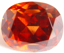 11.70 carats cushion Malaya garnet gemstone, orange garnet, exclusive loose faceted malaya garnets, pyrope spessartite shopping