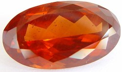 30.57 carats Oval Malaya garnet gemstone, orange garnets, exclusive loose faceted malaya garnets, pyrope spessartite shopping