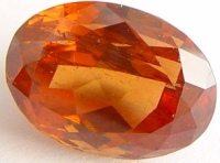 Oval Malaya garnet gemstone, orange garnet, exclusive loose faceted malaya garnets, pyrope spessartite shopping