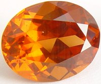 Oval cut Malaya garnet gemstone, orange garnets, exclusive loose faceted malaya garnets, pyrope spessartite shopping