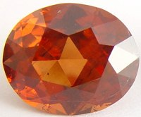 9.21 carats Oval Malaya garnet gemstone, orange garnets, exclusive loose faceted malaya garnets, pyrope spessartite shopping