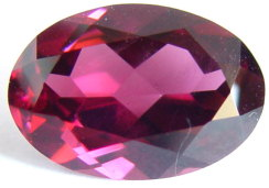 6.43 carats oval Rhodolite garnet gemstone, red purple garnet, exclusive loose faceted rhodolite garnets, gemstones shopping