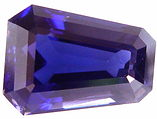 9.46 carats keystone iolite gemstone, blue gems, exclusive loose faceted iolites, gemstones shopping