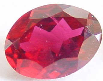 0.32 carats oval ruby gemstone, transparent gems, exclusive loose faceted rubies, gemstones shopping
