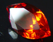 navette Malaya garnet gemstone, orange garnet, exclusive loose faceted malaya garnets, pyrope spessartite shopping