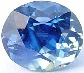 1.06 carats untreated blue sapphire gemstone, transparent gems, exclusive loose faceted sapphires, gemstones shopping