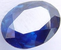 1.08 carat untreated blue sapphire gemstone, transparent gems, exclusive loose faceted sapphires, gemstones shopping