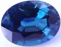 1.53 carat oval blue sapphire gemstone, transparent gems, exclusive loose faceted sapphires, gemstones shopping