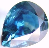 2.26 carats pear sapphire gemstone, transparent gems, exclusive loose faceted sapphires, gemstones shopping