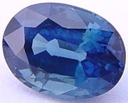 1.21 carat untreated blue sapphire gemstone, transparent gems, exclusive loose faceted sapphires, gemstones shopping