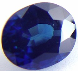 2.55 carats untreated blue sapphire gemstone, transparent gems, exclusive loose faceted sapphires, gemstones shopping