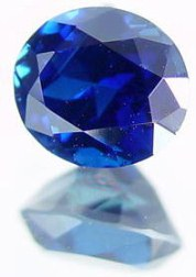2.22 carats untreated blue sapphire gemstone, transparent gems, exclusive loose faceted sapphires, gemstones shopping