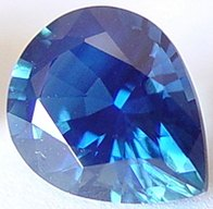 2.20 carats Pear sapphire, untreated blue sapphires, exclusive loose faceted sapphire, natural sapphire shopping