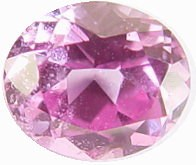 oval pink sapphire gemstone, transparent gems, exclusive loose faceted sapphires, untreated gemstones shopping