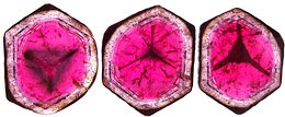 Watermelon Tourmaline slice, red white green pink Madagascar tourmaline, exclusive tourmalines, tourmaline information data